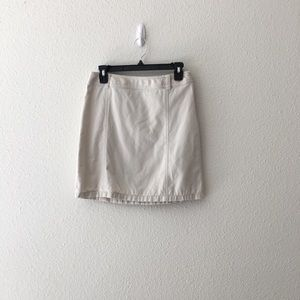Ann Taylor Khaki Skirt